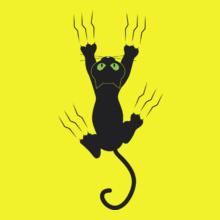 CAT Black-cat T-Shirt