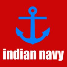 indian-navy-anchor T-Shirt