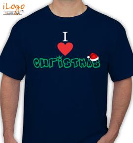 i love christmas - T-Shirt