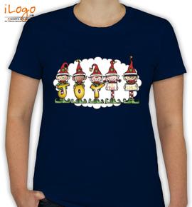 Christmas-elfs - T-Shirt [F]