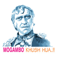 Bollywood mogambo T-Shirt