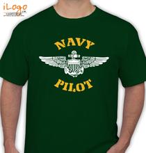 Navy-Pilot-Wings T-Shirt