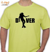 Navy-Diver T-Shirt
