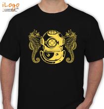 Diver-Helmet T-Shirt