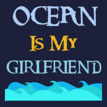 Indian Navy Ocean-Is-my-Girlfriend T-Shirt