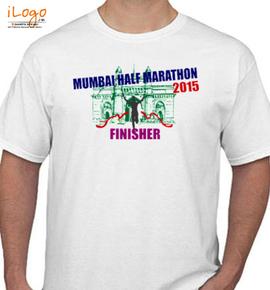 mumbai-half-marathon - T-Shirt