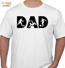 dad-play-foot-ball T-Shirt