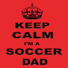 keep-calm-soccer-dad T-Shirt