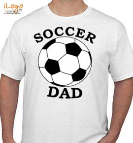 soccer-dad- - T-Shirt
