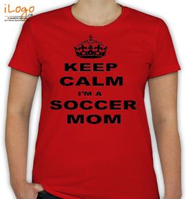 keep-calm-soccer-mom - T-Shirt [F]