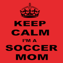 Soccer Mom keep-calm-soccer-mom T-Shirt