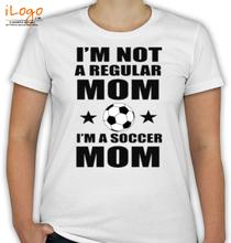 Soccer Mom mom- T-Shirt