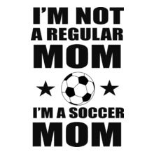 Soccer Mom mom- T-Shirt