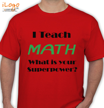 Maths i-teach-math T-Shirt