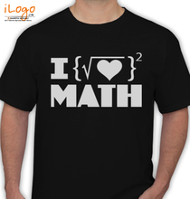Maths i-love-math T-Shirt