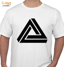 Maths Triangle-Geometry T-Shirt