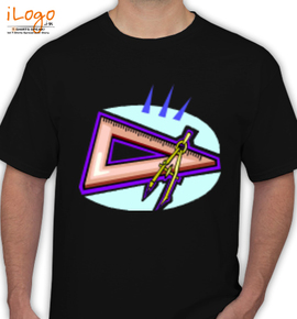 Diversos/esquadro - T-Shirt