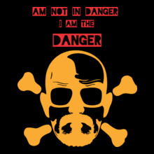 Breaking Bad Breaking-Bad-Danger T-Shirt