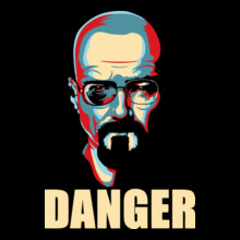 Breaking Bad Heisenberg-Danger-T-shirt T-Shirt