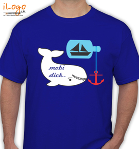 moby dick happy - T-Shirt