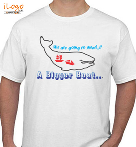 moby dick boat - T-Shirt