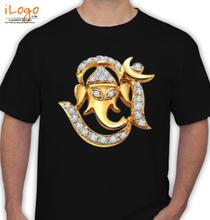 Ganesh Chaturthi Ganesh-om T-Shirt