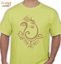 Ganesh Chaturthi ganesha-tribal T-Shirt