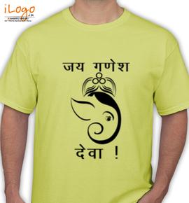 Jai-Ganesha-Deva- - T-Shirt