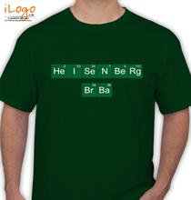 Breaking Bad Heisenberg-t-shirt T-Shirt