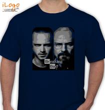 Breaking Bad Jesse-and-Heisenberg-T-shirt T-Shirt
