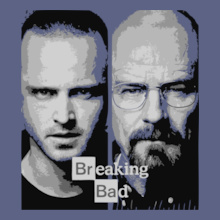 Breaking Bad Jesse-and-Heisenberg-T-shirt T-Shirt