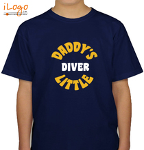 Daddy%s-little-diver T-Shirt