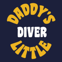 Daddy%s-little-diver T-Shirt