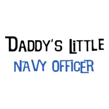 Indian Navy DaddYs-little-navy-officer T-Shirt