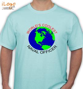 Worlds coolest naval officer - T-Shirt