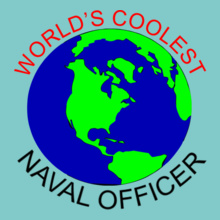 Worlds-coolest-naval-officer T-Shirt