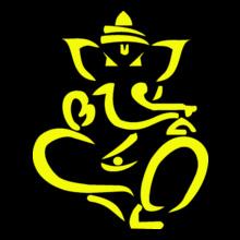 Ganesh Chaturthi Ganesh-yoga T-Shirt