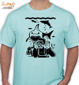 Diver- - T-Shirt