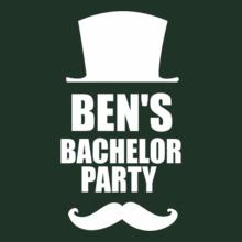 Bachelor Party ben%s-bachelor-party T-Shirt
