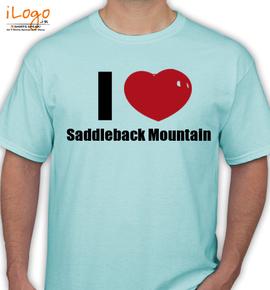 Saddleback Mountain - T-Shirt
