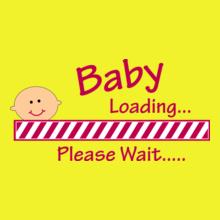 Baby-Loading-Please-Wait-Women%s T-Shirt