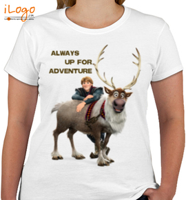 always-up-for-adventure - Girls T-Shirt