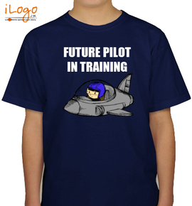 Future Pilot In training - Boys T-Shirt