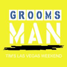 Bachelor Party tim%s-groomsman T-Shirt