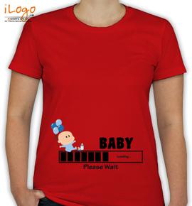 Baby Loading Please Wait - T-Shirt [F]