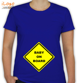 Baby On Board  - T-Shirt [F]