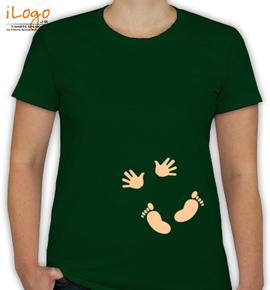 Baby Hand Feet - T-Shirt [F]