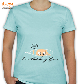 I am Watching You - T-Shirt [F]