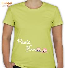 Peek a boo Peek-a-Boo-Babies T-Shirt