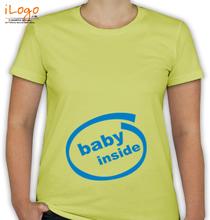 Peek a boo Baby-Inside-T T-Shirt